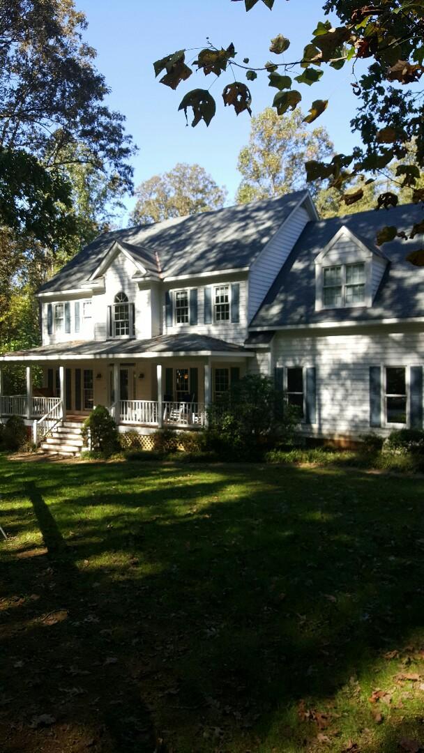 Manakin-Sabot, VA - Gutter shutter on Hall home