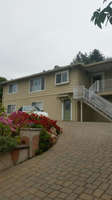 San Jose, CA - Exterior residential paint job. Peeling paint. Wrought iron railings.