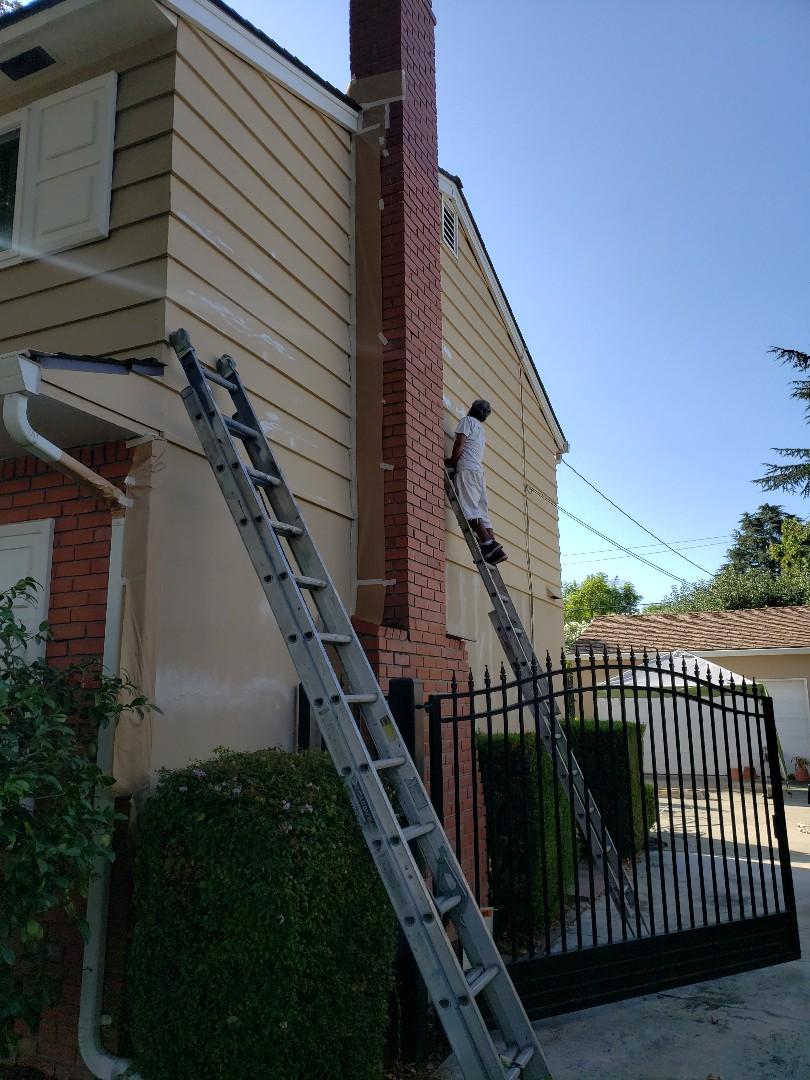 San Jose, CA - Exterior painting in San Jose, CA