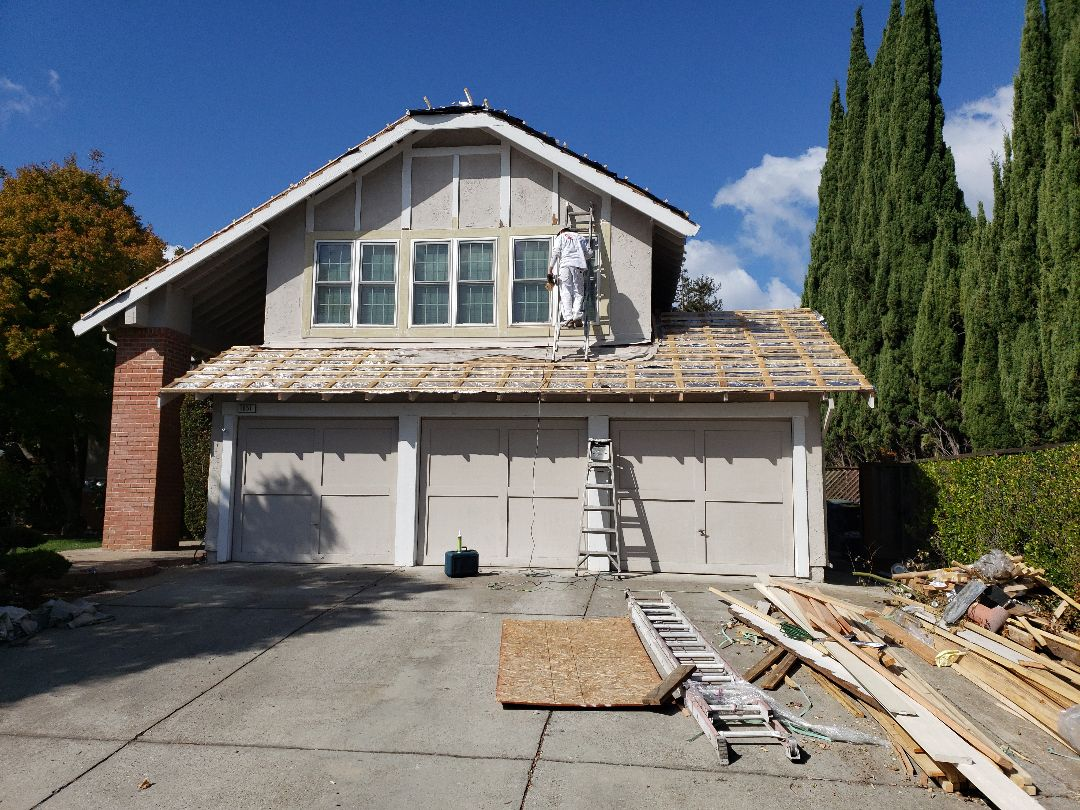 Exterior painting in Sunnyvale, CA