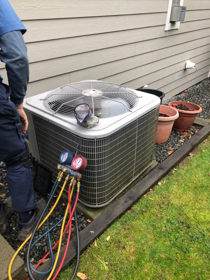Today we are preforming a preventative maintenance on a Payne heat pump.