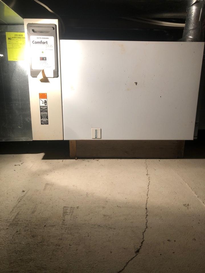 Chemainus, BC - Today I am preforming a preventative maintenance on a Frigidaire electric furnace