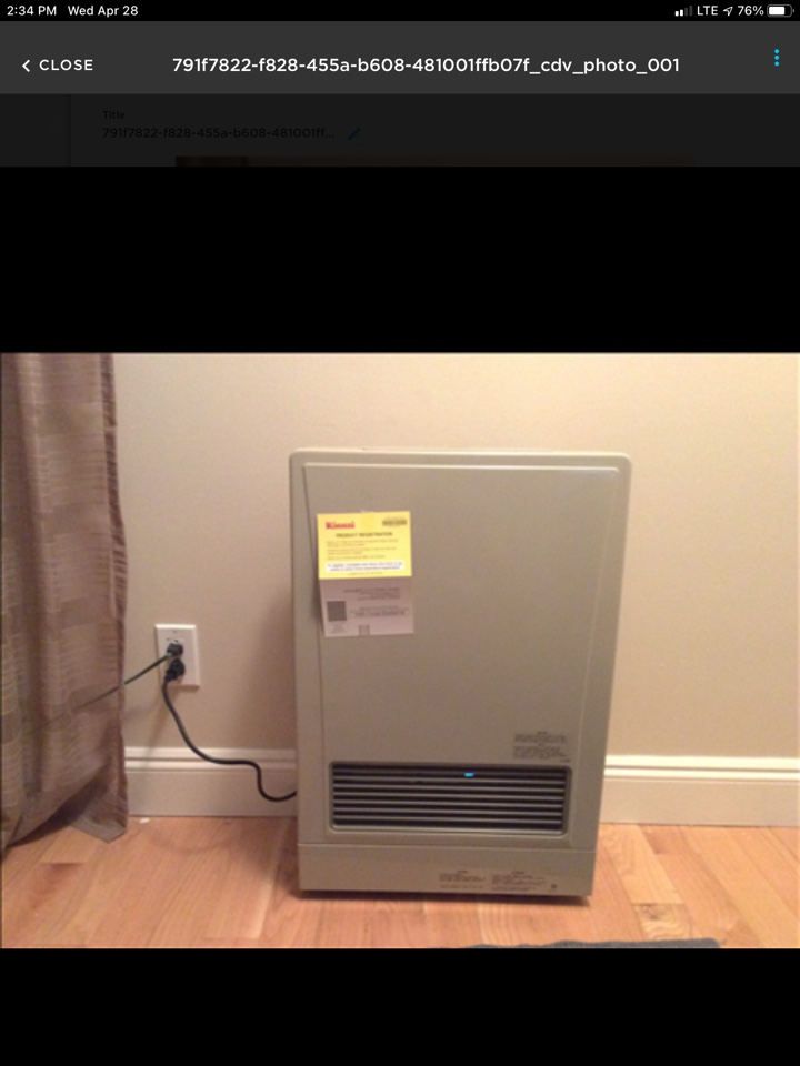 Cobble Hill, BC - Instructing this customer on how to properly operate their Rinnai wall furnace here in Arbutus Ridge!