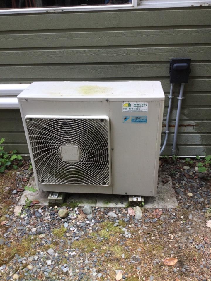 Mill Bay, BC - Heat pump preventative maintenance