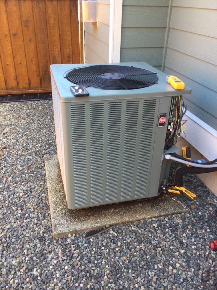 Chemainus, BC - Heat pump preventative maintenance