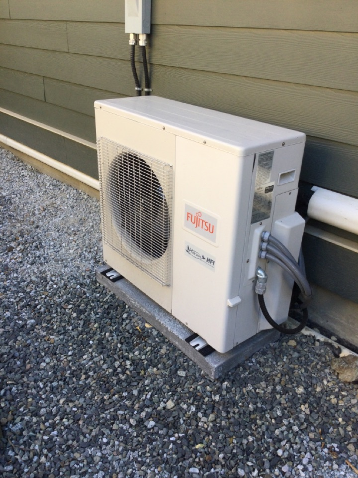 Cobble Hill, BC - Diagnostic for ductless heat pump not cooling
