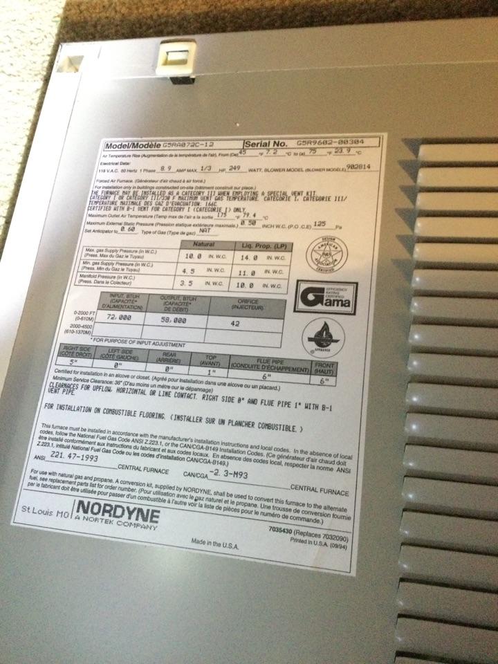 Duncan, BC - Heat pump diagnostic