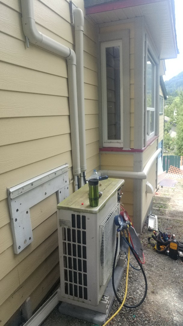 Lake Cowichan, BC - Revamping a poorly installed Fujitsu mini split system in beautiful Lake Cowichan!