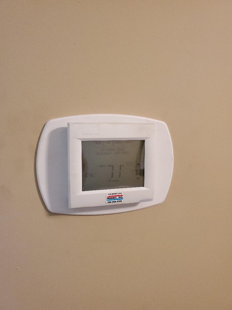 Smithfield, NC - Honeywell thermostat repair