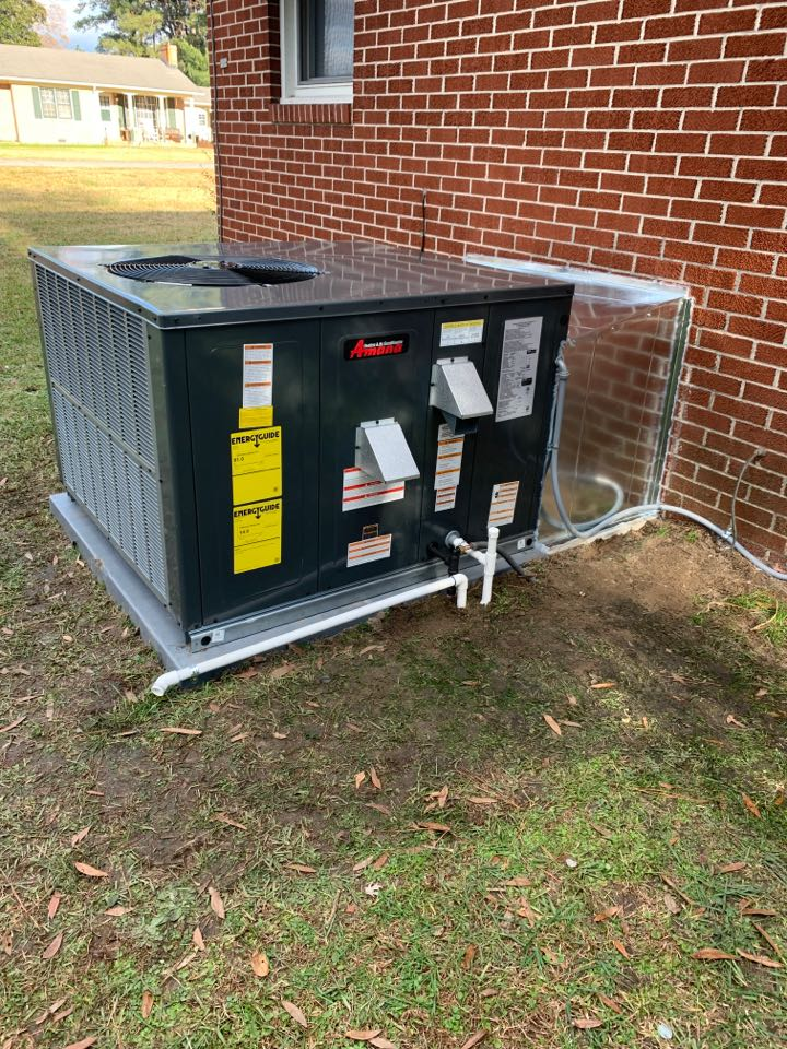 Smithfield, NC - Installed new gas pack