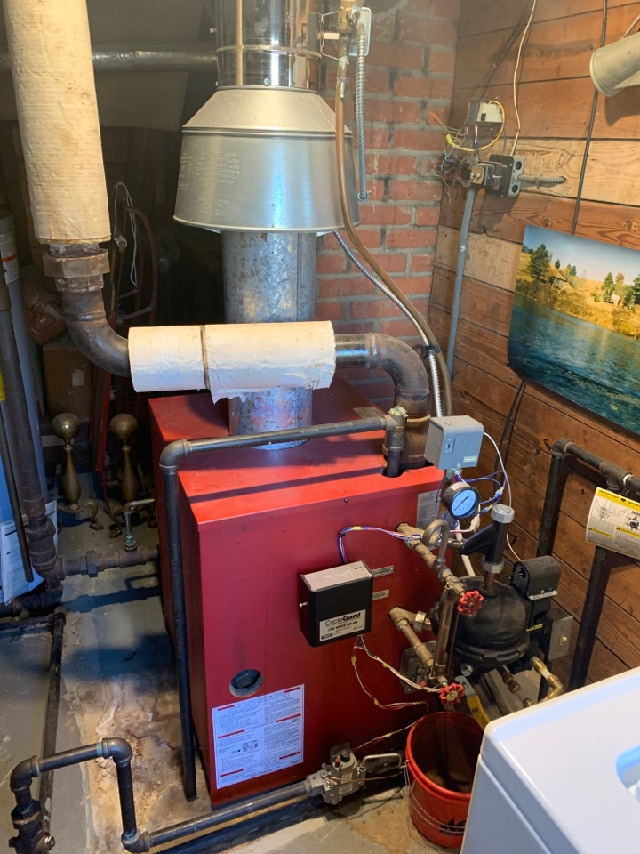 Raleigh, NC - Fixed at stem boiler