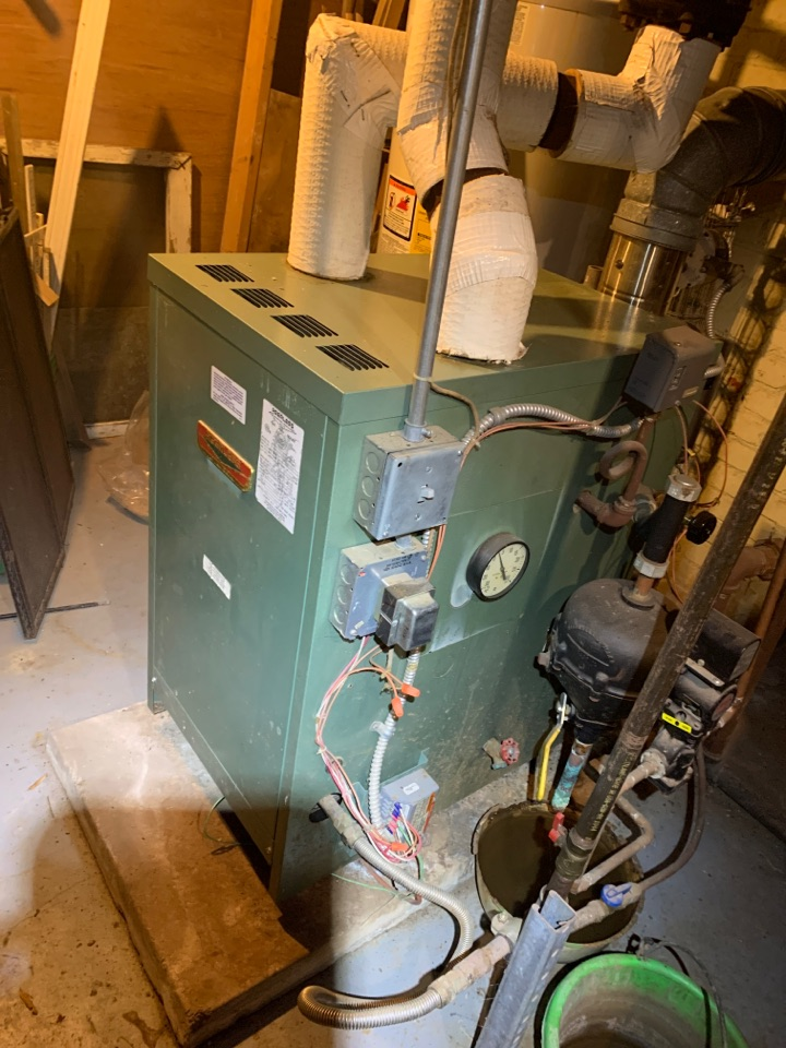 Raleigh, NC - Inspection boiler operation