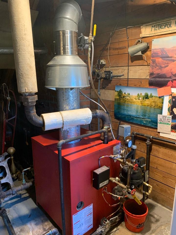 Raleigh, NC - Fixed stem hot water boiler