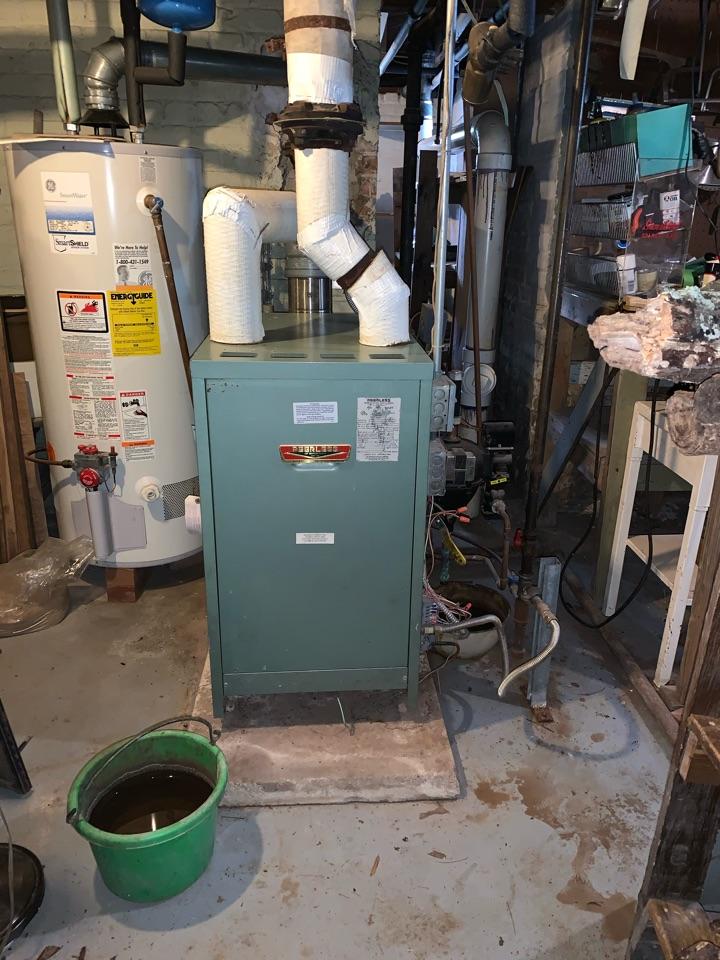 Raleigh, NC - Repair another stem hot water boiler