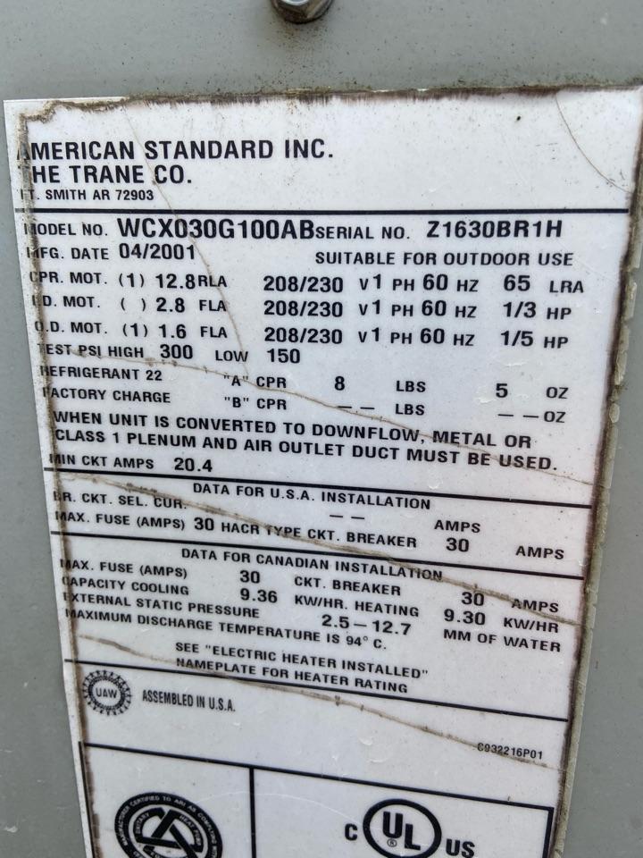 Goldsboro, NC - New maintenance customer