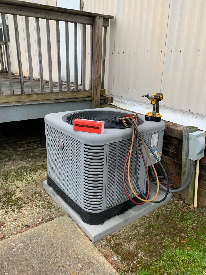 Smithfield, NC - Replaced indoor mobile home coil