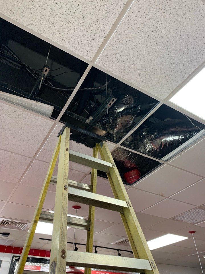 Smithfield, NC - Water leak problem above ceiling at both air handler units