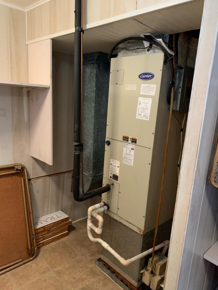 Four Oaks, NC - Install new NeZ thermostat