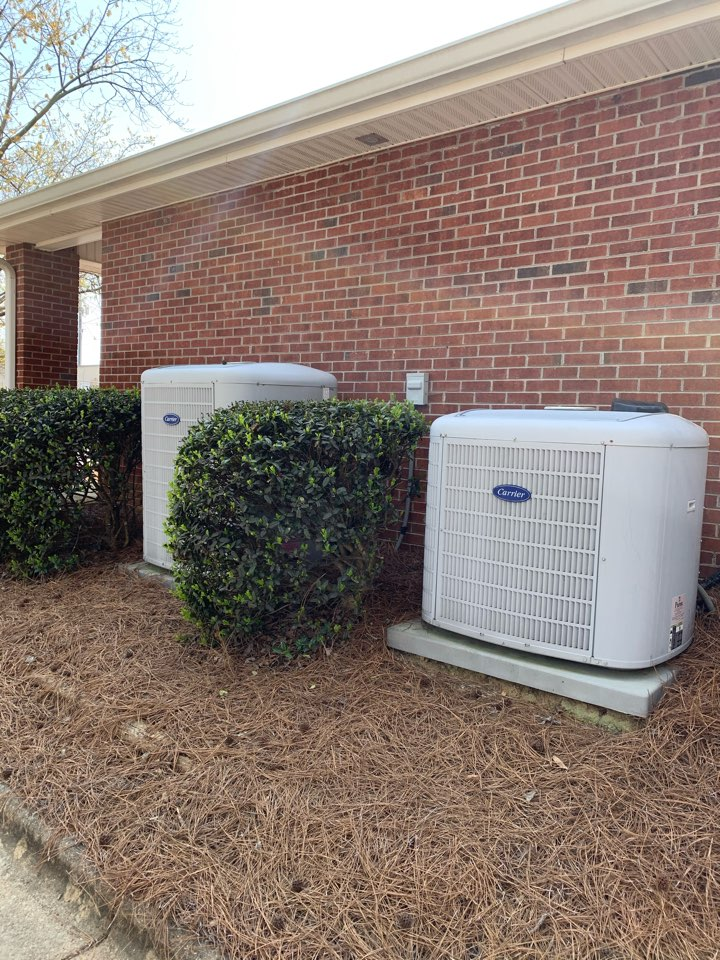Clayton, NC - Not ac call at system does back rooms of business