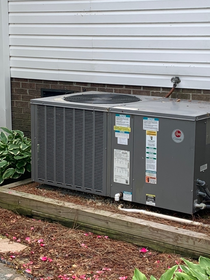 Four Oaks, NC - Rheem package system not cooling