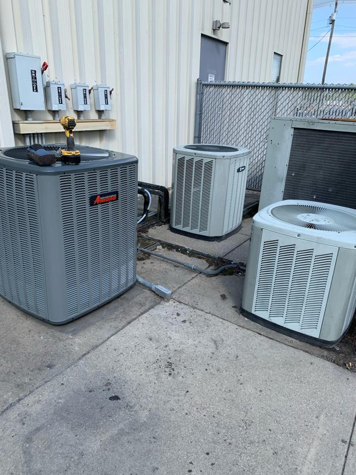 Selma, NC - Star new heat pump split system