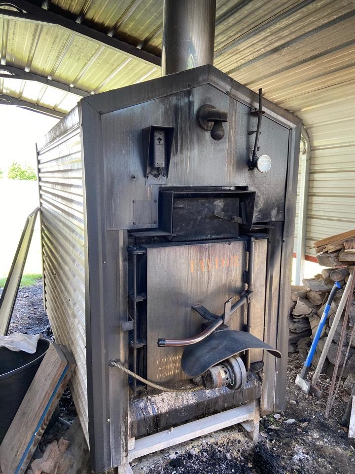 Princeton, NC - Wood fired boiler