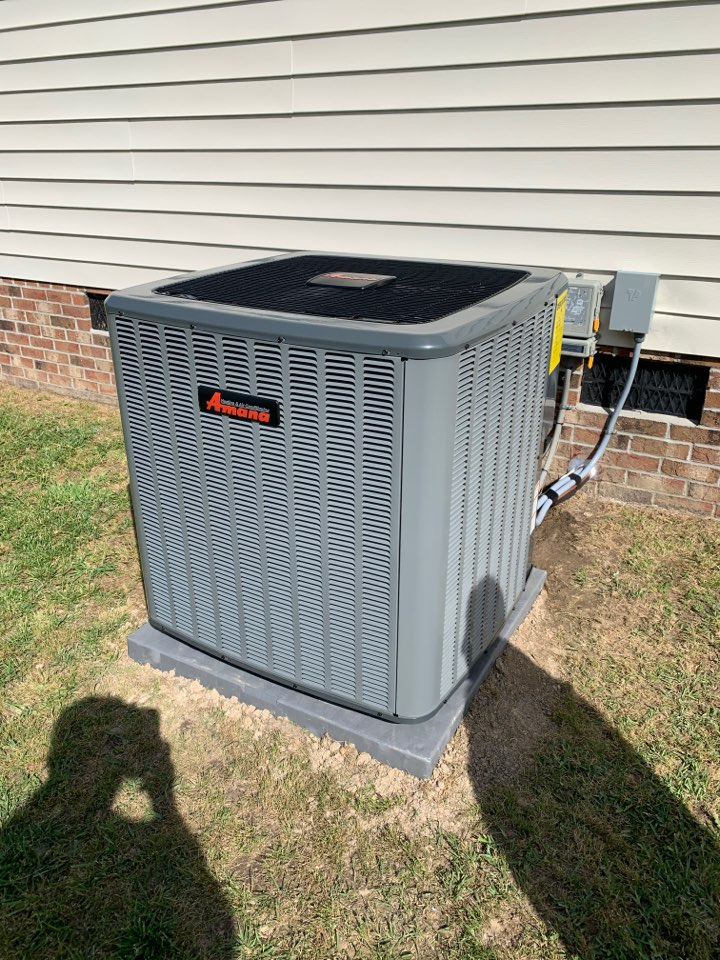Selma, NC - Installed and start up of new Goodman split system