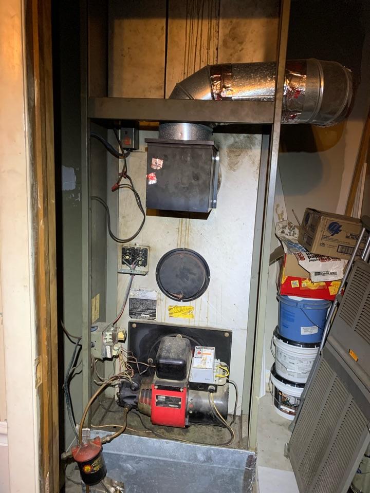 Smithfield, NC - Not heat at old oil furnace
