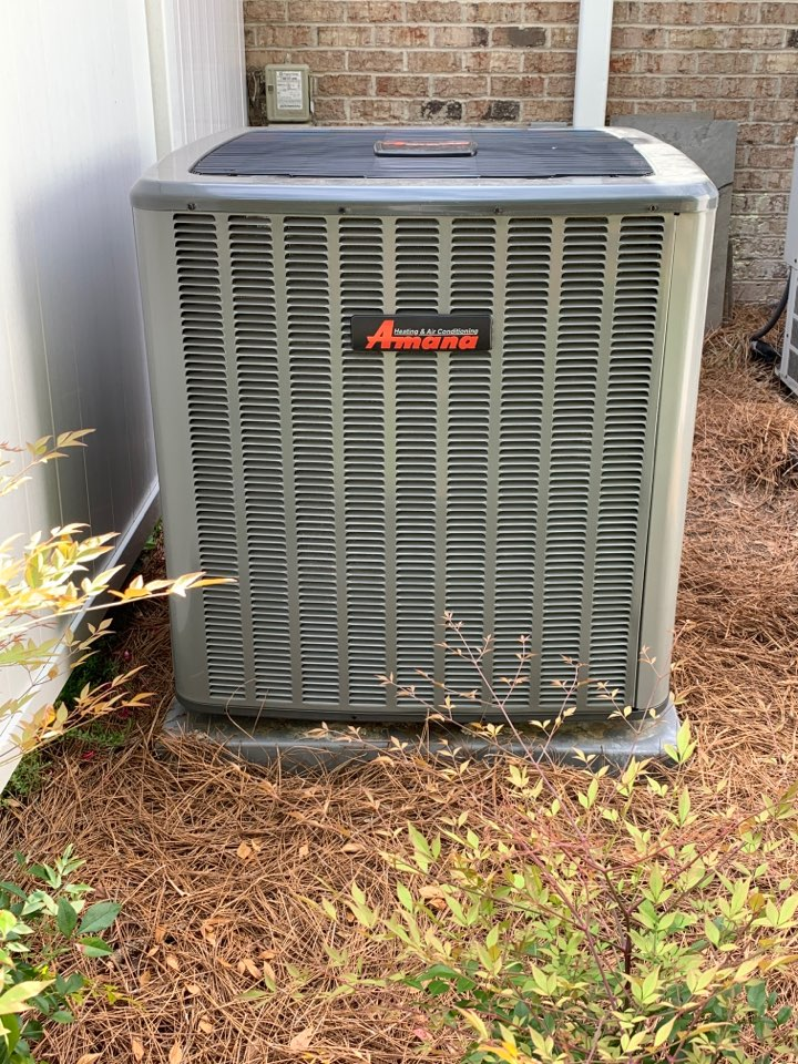 Smithfield, NC - Amana heat pump not cooling