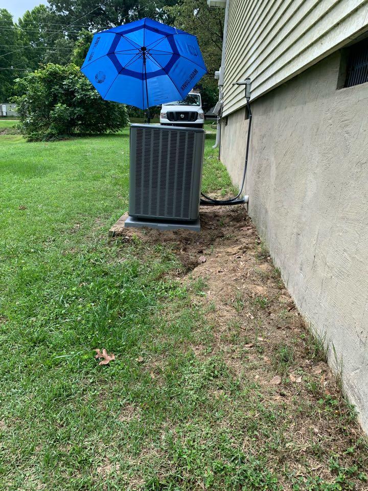 Four Oaks, NC - Star new system split heat pump