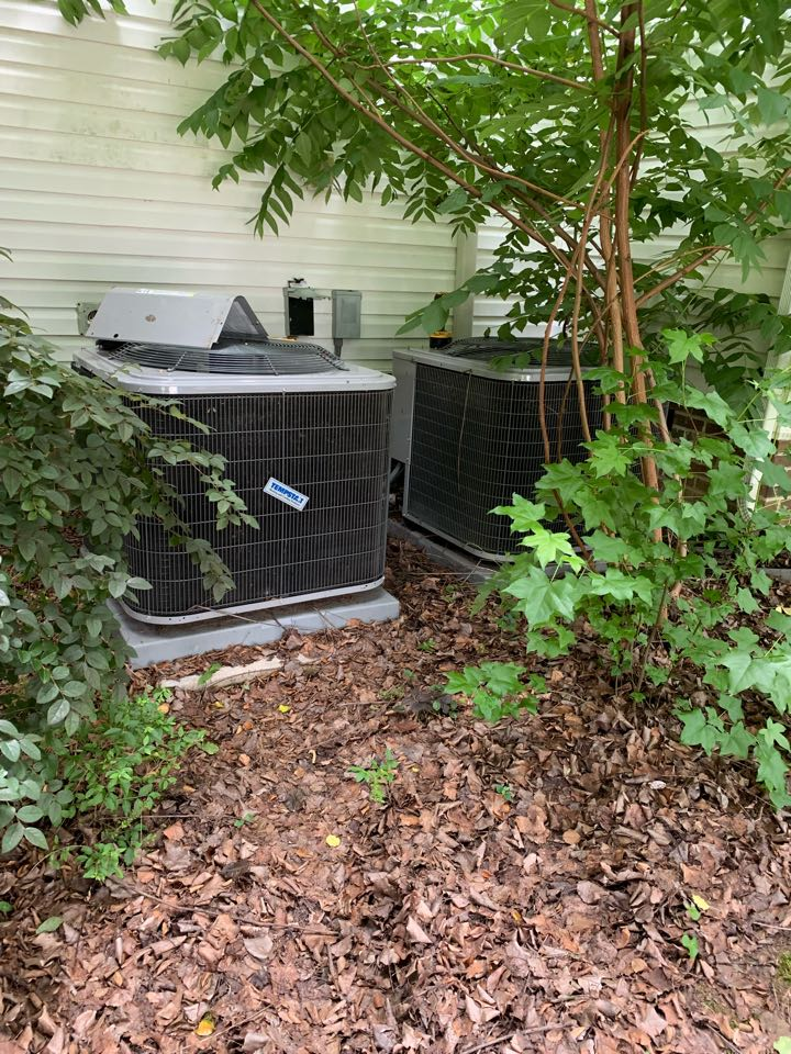 Smithfield, NC - Not cooling call of system does second floor of new