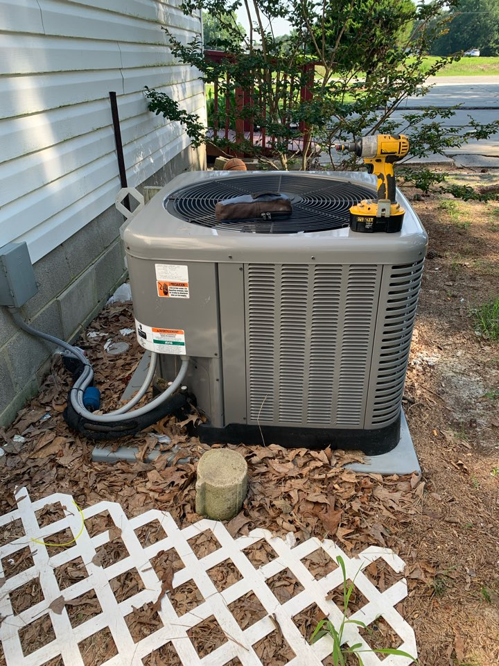 Four Oaks, NC - Not cooling call