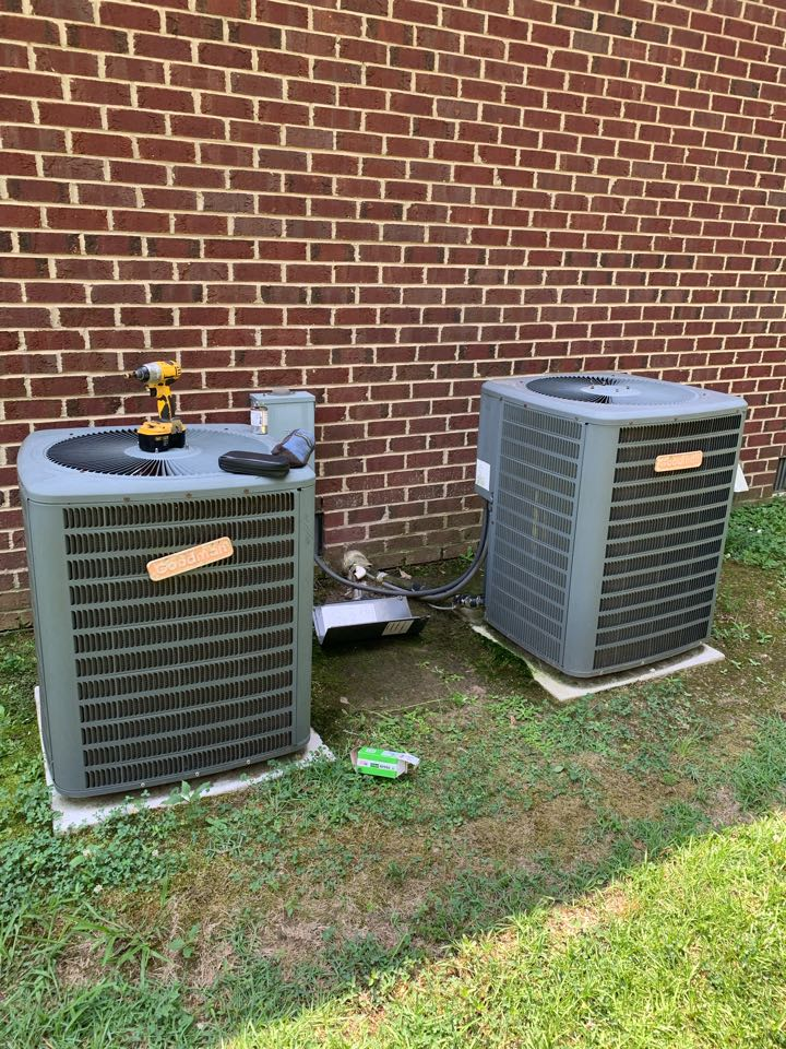 Smithfield, NC - Not cooling call