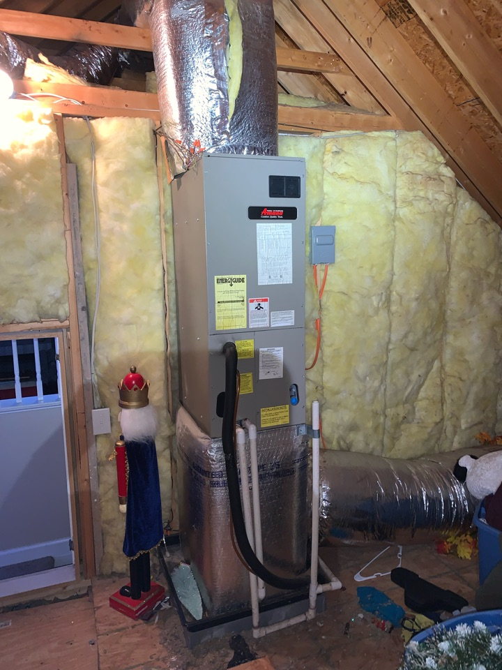 Kenly, NC - Not cooling call at second floor system