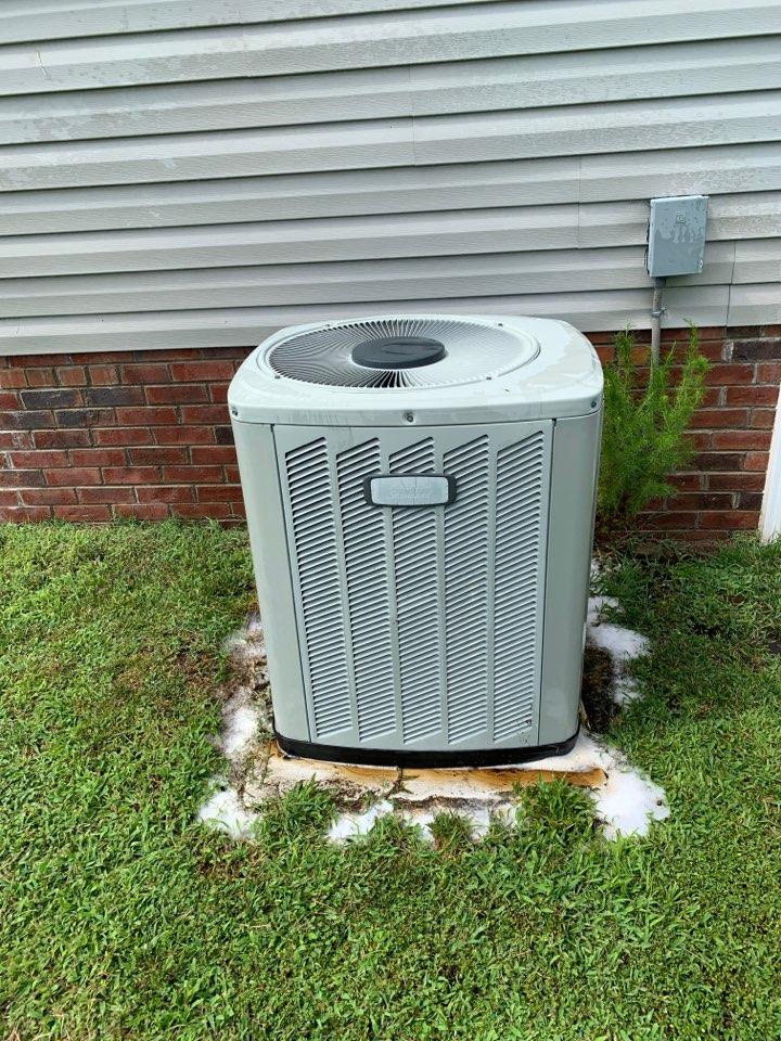 American standard split system not cooling