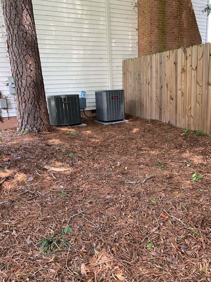 Smithfield, NC - Star new Amana split system heat pump