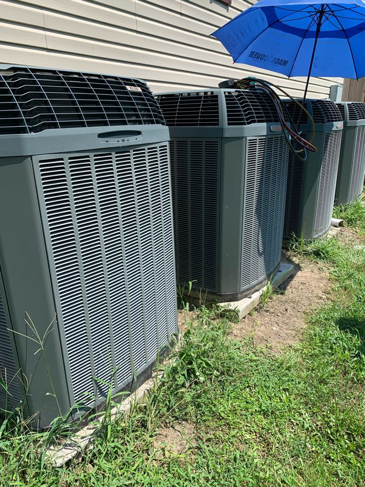 Smithfield, NC - Not cooling call at new customer