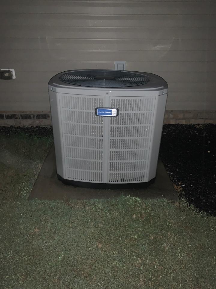 Selma, NC - American standard split system not cooling