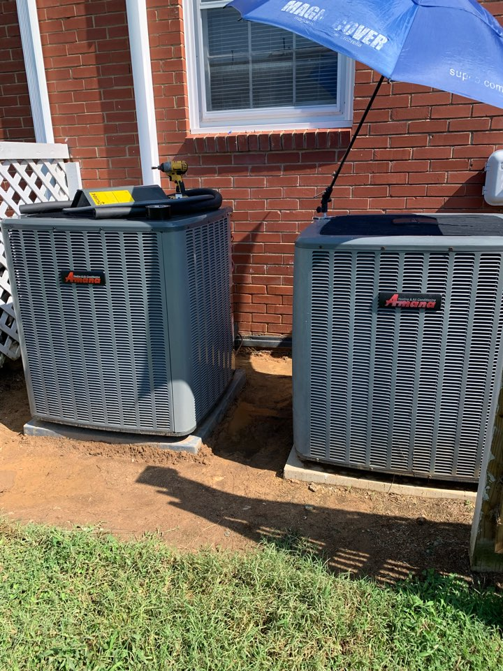 Holly Springs, NC - Finish few things and new installation