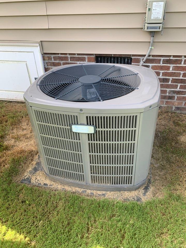 Clayton, NC - American standard split system not cooling