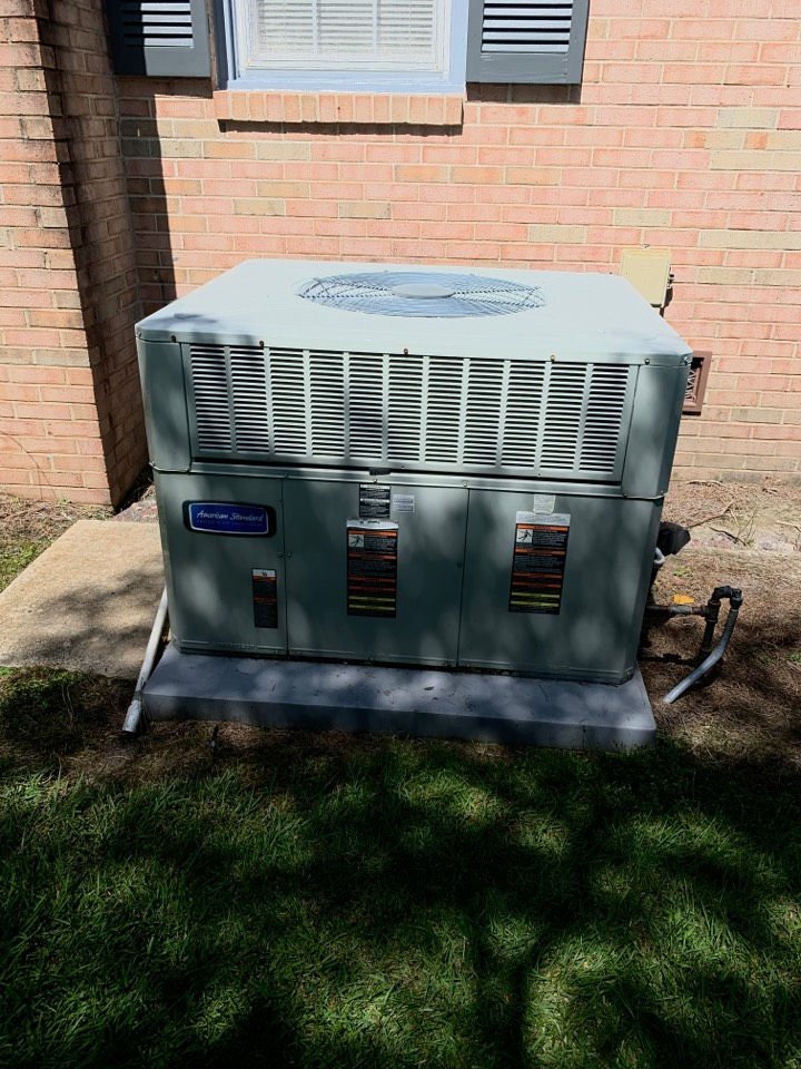 Pikeville, NC - American standard package system not cooling