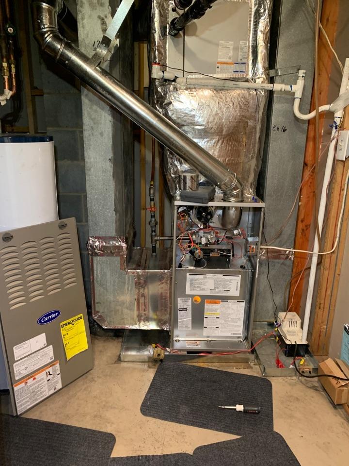 Garner, NC - Star new gas furnace