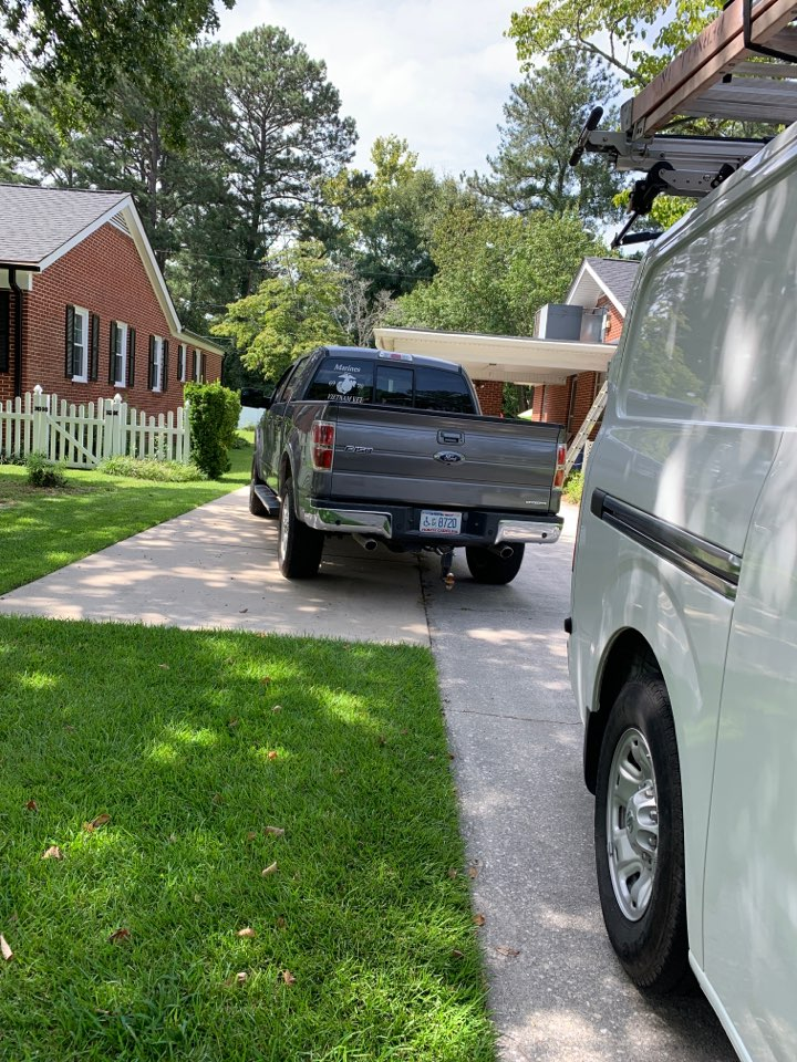 Smithfield, NC - Not cooling call at heat pump package unit Goodman