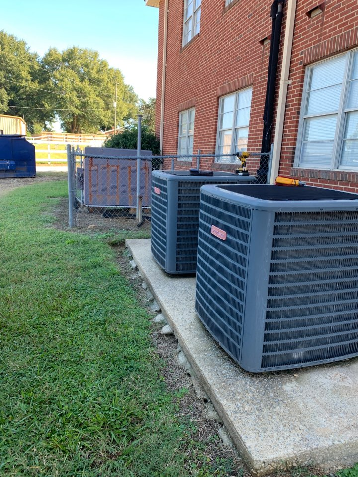 Raleigh, NC - Not cooling call at dual split system ac and hot water boiler