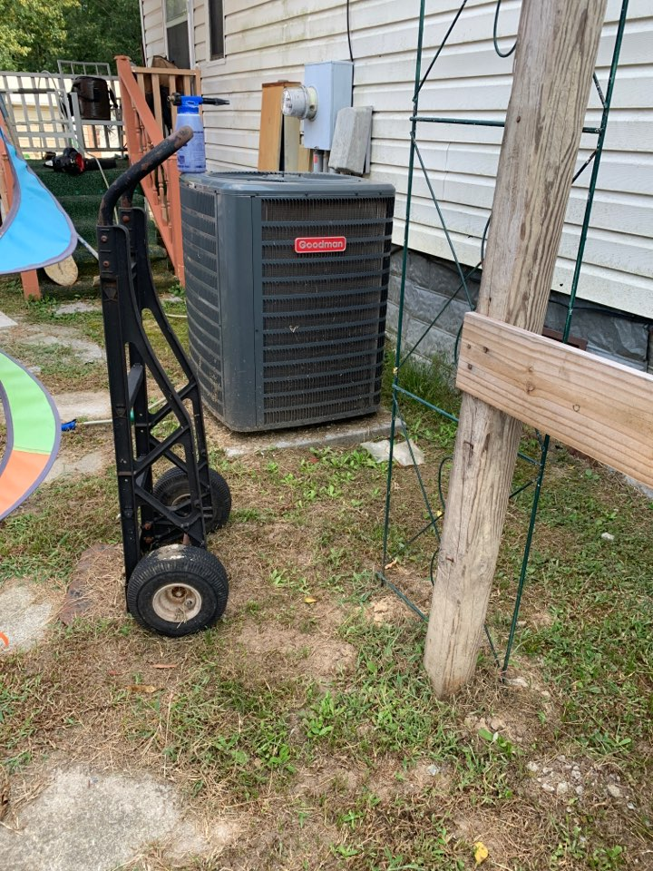Selma, NC - Maintenance performance at mobile home system