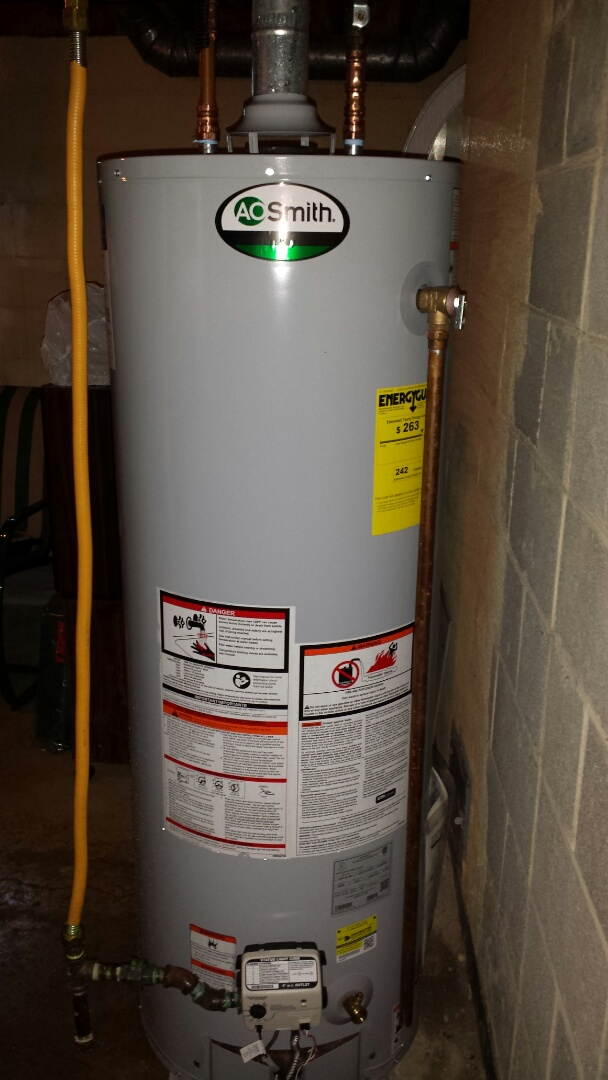 Wind Point, WI - Replaced a water heater