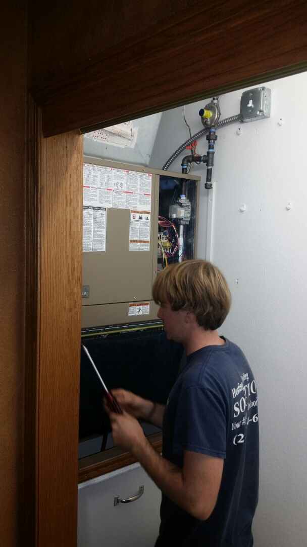 Sturtevant, WI - Just got done installing a magic pack with the new regulator and added a Wi-Fi thermostat