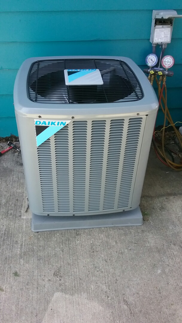 Racine, WI - New daikin professionally installed air conditioner. 24 Hour emergency repair