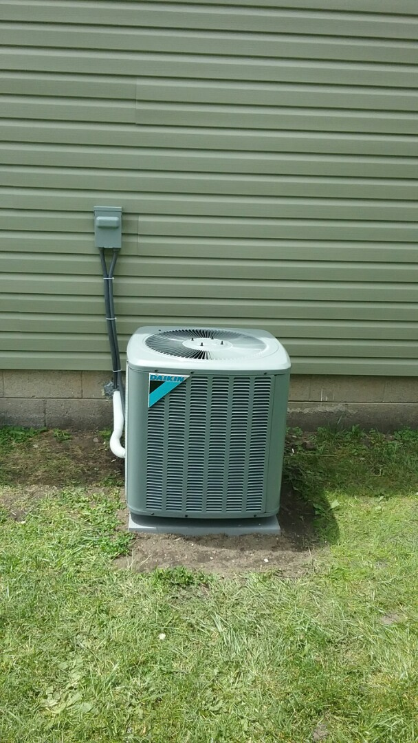 Mount Pleasant, WI - New daikin professionally installed. 24 hour service