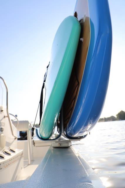 Take two SUP's with Manta Racks S2 Rack System.